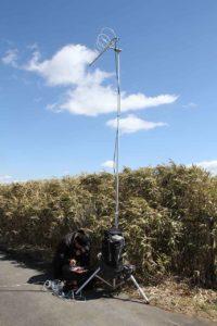 JK2PLQ,7エレループアンテナで430MHz運用している画像