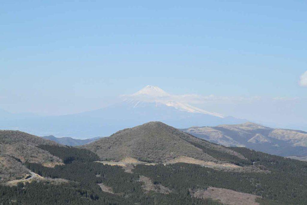 仁科峠から観る富士山