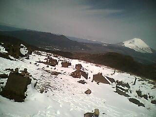 駒ケ岳山頂からの富士山